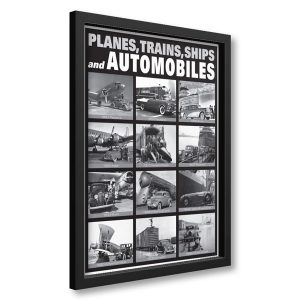 Planes Trains Automobiles Framed Posted