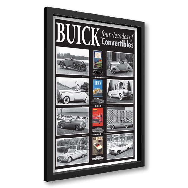 Buick Convertibles Framed Poster