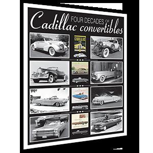 Cadillac Convertibles Poster