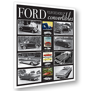 Ford Convertibles Poster