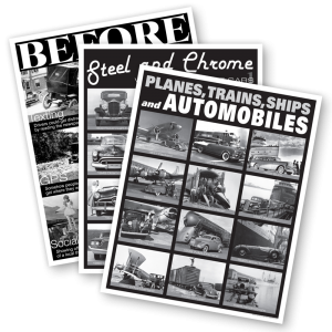 B&W - 3 poster set