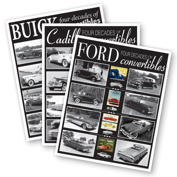 Four Decades of Convertibles