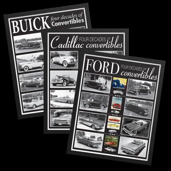 Framed Convertibles Poster Set