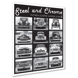 Steel and Chrome 1 Poster